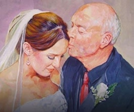 Custom Wedding Paintings